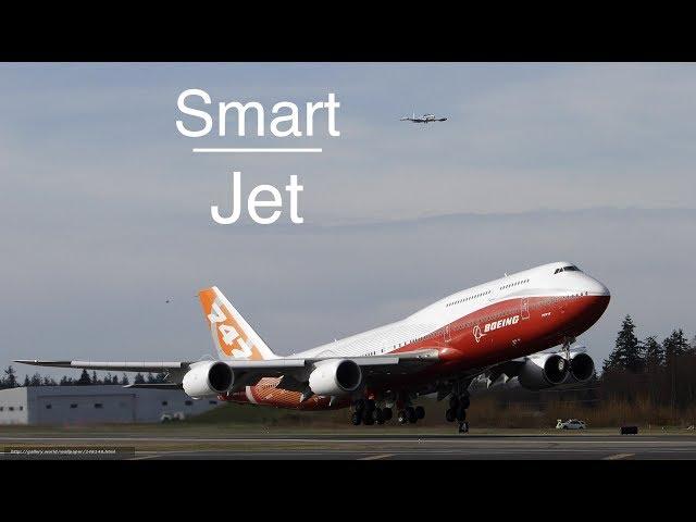 Boeing B747 8 Jumbo Jet