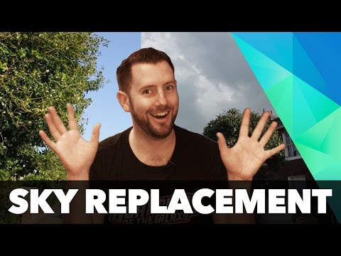 Sky replacement in HitFilm