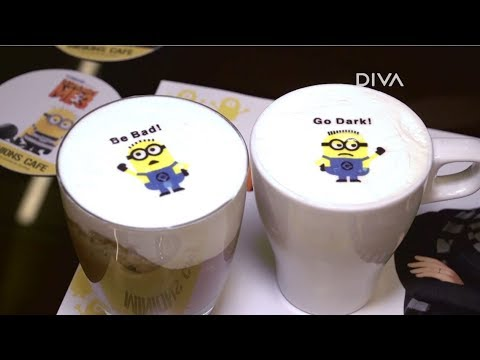 Minions Pop-Up Cafe in Singapore | DIVA First Cut | DIVA TV Asia