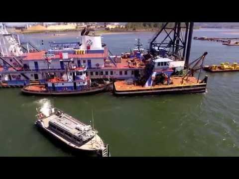 Port Of Portland Dredger part 3