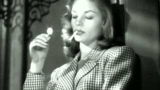 To Have and Have Not (1944) - Humphrey Bogart - Lauren Bacall- Anybody Got A Match?