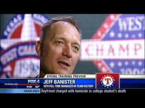 Rangers manager Jeff Banister 1-on-1