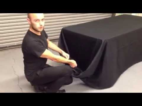 Draping a Banquet Table