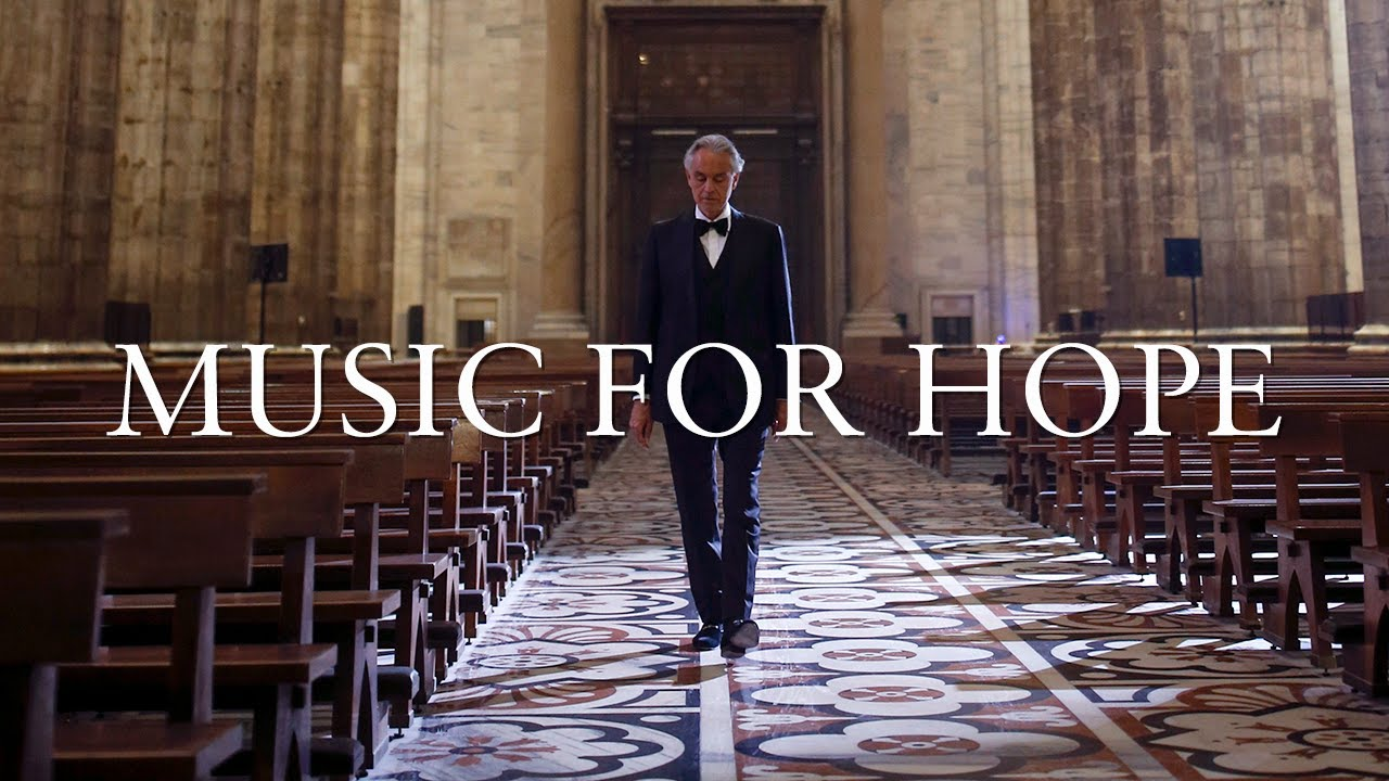 Andrea Bocelli: Music For Hope - Live From Duomo di Milano - YouTube