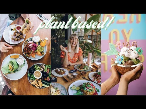 My FAVOURITE Places To Eat In BALI // Plant Based Vegan Food! SO Delicious