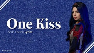 One Kiss - Sofia Carson (Lyrics) [From Disney&#39s Descendants 3]
