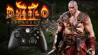 Diablo II: Resurrected Technical Alpha PC Controller Gameplay