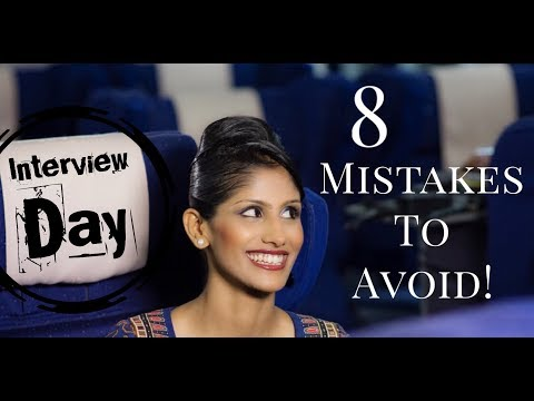 Cabin Crew/Singapore Airlines Interview Day: 8 mistakes to avoid