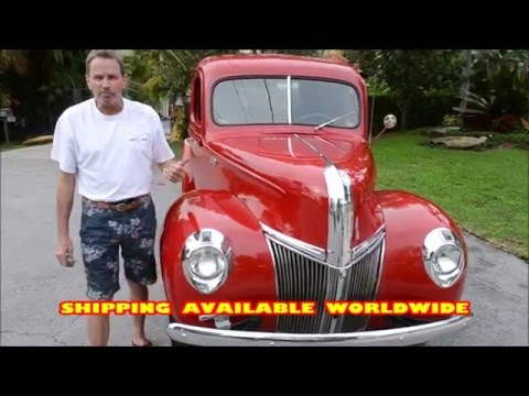 1941 Ford Pickup For Sale by Vanguard Motor Sales