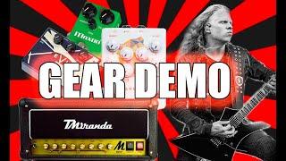 Jeff Loomis Gear Demo: TMiranda M800 Guitar Head