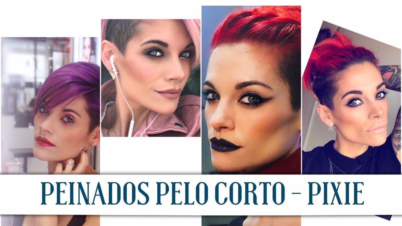 Lluvia de ideas peinados pixie Colección De Cortes De Pelo Ideas - PEINADOS PELO CORTO - PIXIE - YouTube