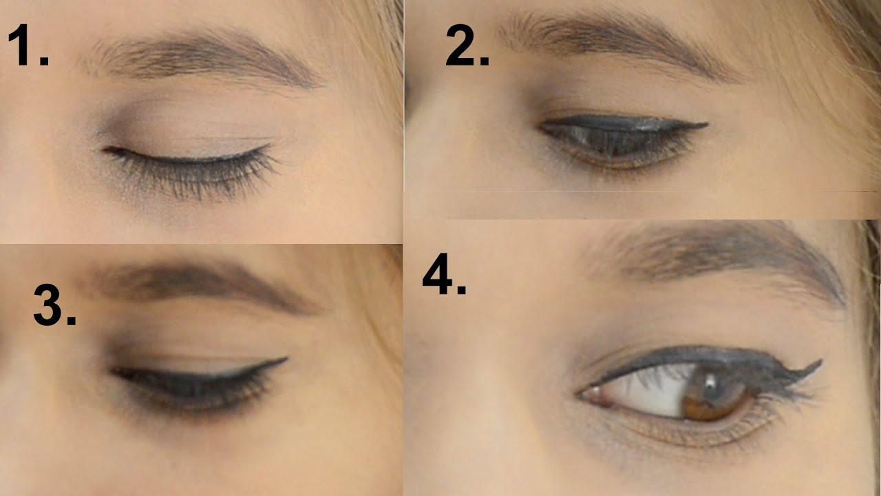 ���य ���ाइनर ���गाने ���े 4 ���रीके। 4 Ways To Apply Eyeliner In Hindi: Hindi Makeup  Tutorial Part 1