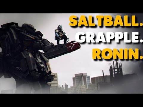 Titanfall 2 - SALTBALL. GRAPPLE. RONIN. | Music by Iniquity
