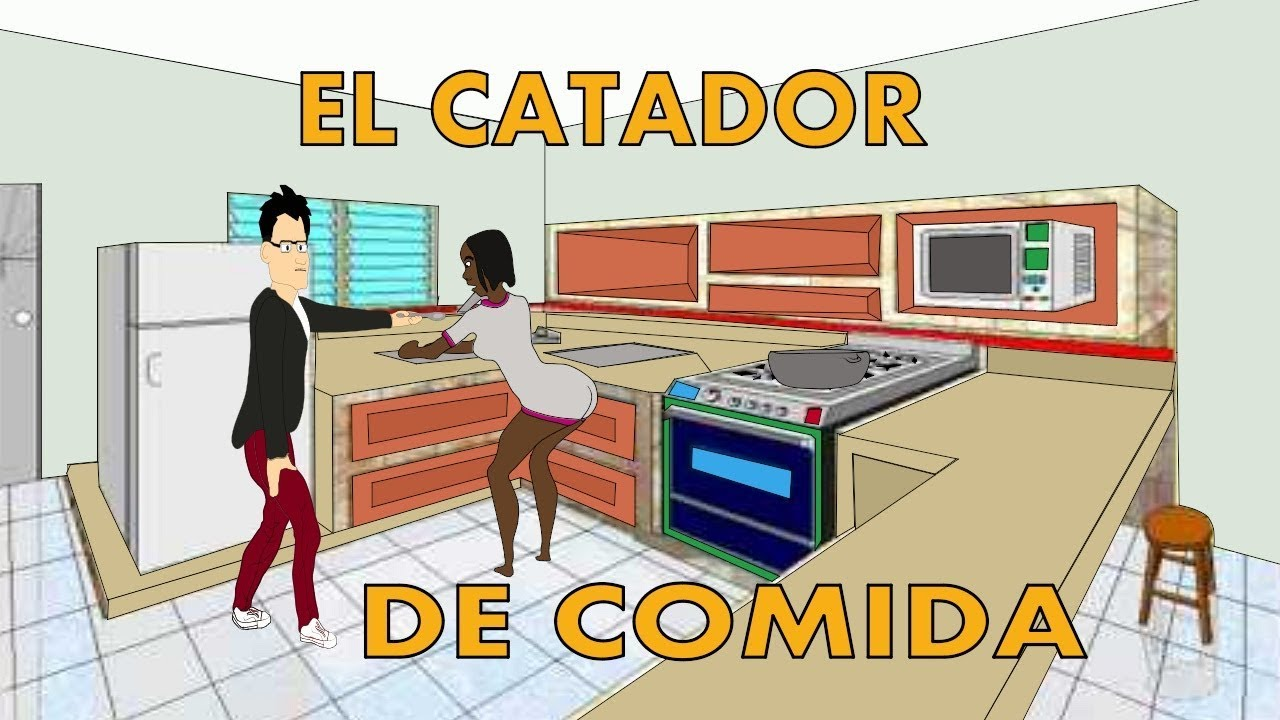 el catador de comida l silverio animation l animacion de francis silverio