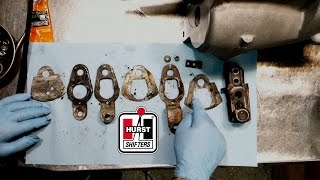 how to take apart a hurst competition plus shifter