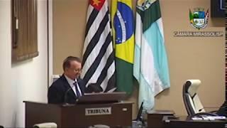 16ª Sessão Ordinária - Vereador Vanderlei Pinatto