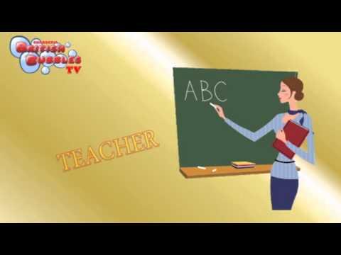 Las Profesiones En Ingles Para Niños Por Imágenes Y Fichas Infantiles Bbtv51