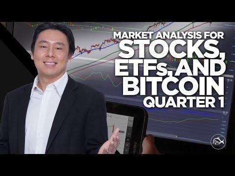 Market Analysis for Stocks, ETFs and Bitcoin Quarter 1, 2018