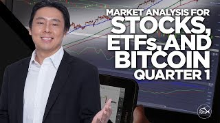 Market Analysis for Stocks, ETFs and Bitcoin Quarter 1, 2018