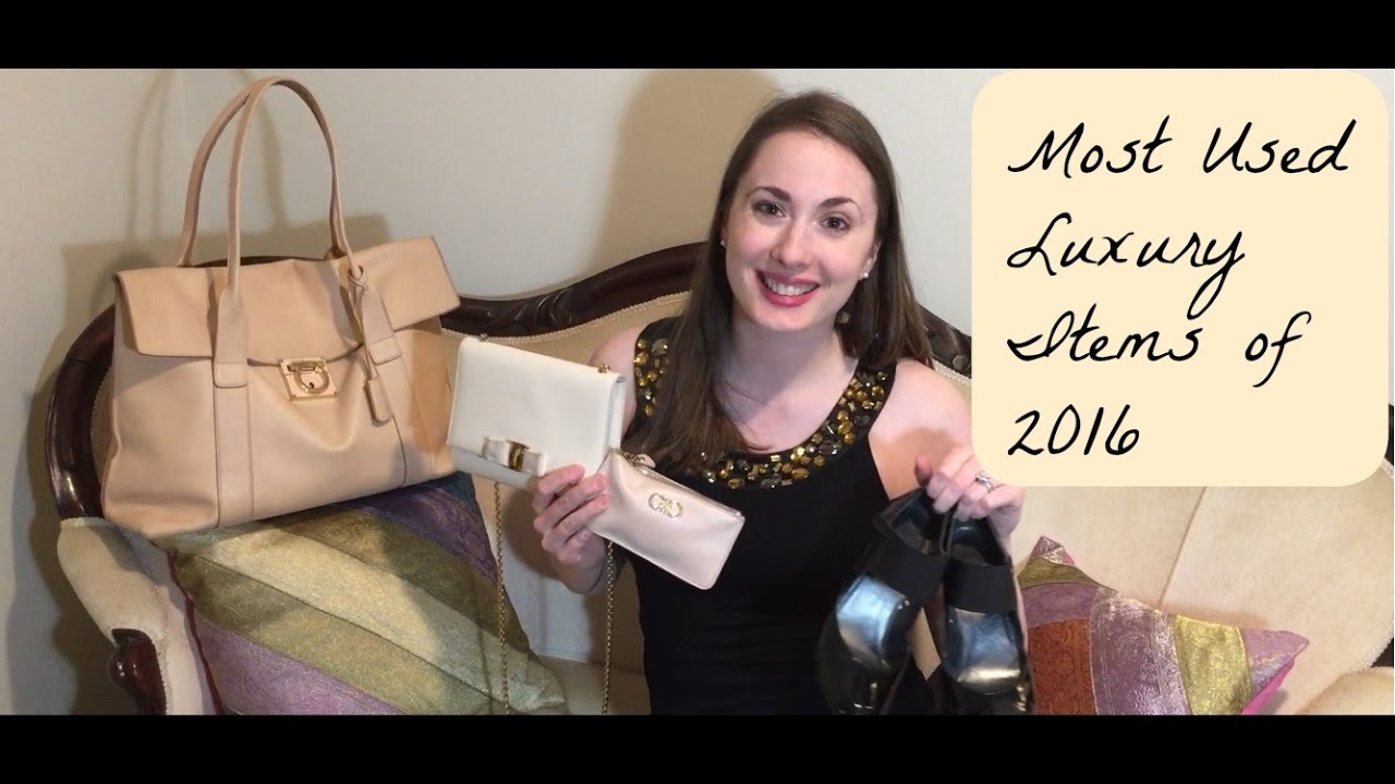 f1e2ddfd99f9 Most used luxury items in 2016 - YouTube