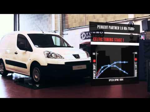Peugeot Partner ECU Remap - 1.6 HDi 75bhp Stage 1 ECU Tuning