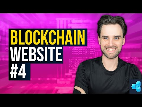 How To EASILY Create A Blockchain Website [Pt 4: Crypto Exchange Tutorial]