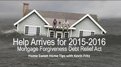 Tax Relief for Folks Underwater on a Short Sale or Foreclosure
