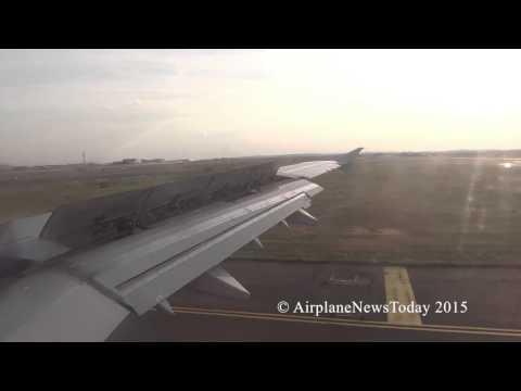 Air France, A321-200, landing in Paris (HD)