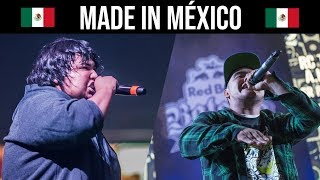 RIMAS MADE IN MÉXICO !! | Batallas de Gallos Rap