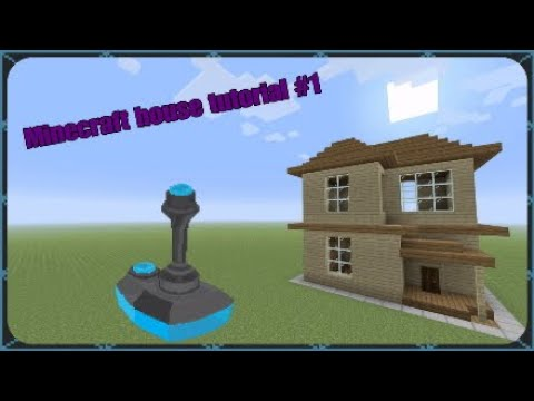 Minecraft house tutorial #1 | Easy wooden survival house
