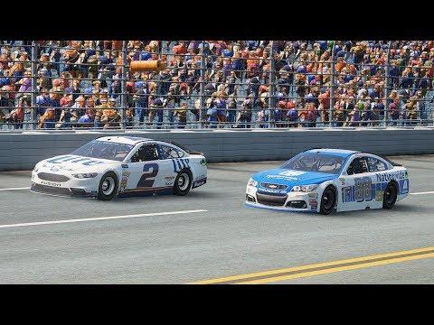 Keselowski Takes Talladega! | NASCAR Heat 2