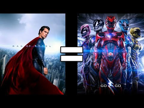 24 Reasons Man of Steel & Power Rangers Are The Same Movie