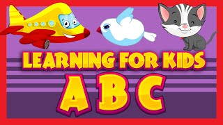 LEARNING VIDEO FOR KIDS | Transportation For Kids | ABC Learning For Children