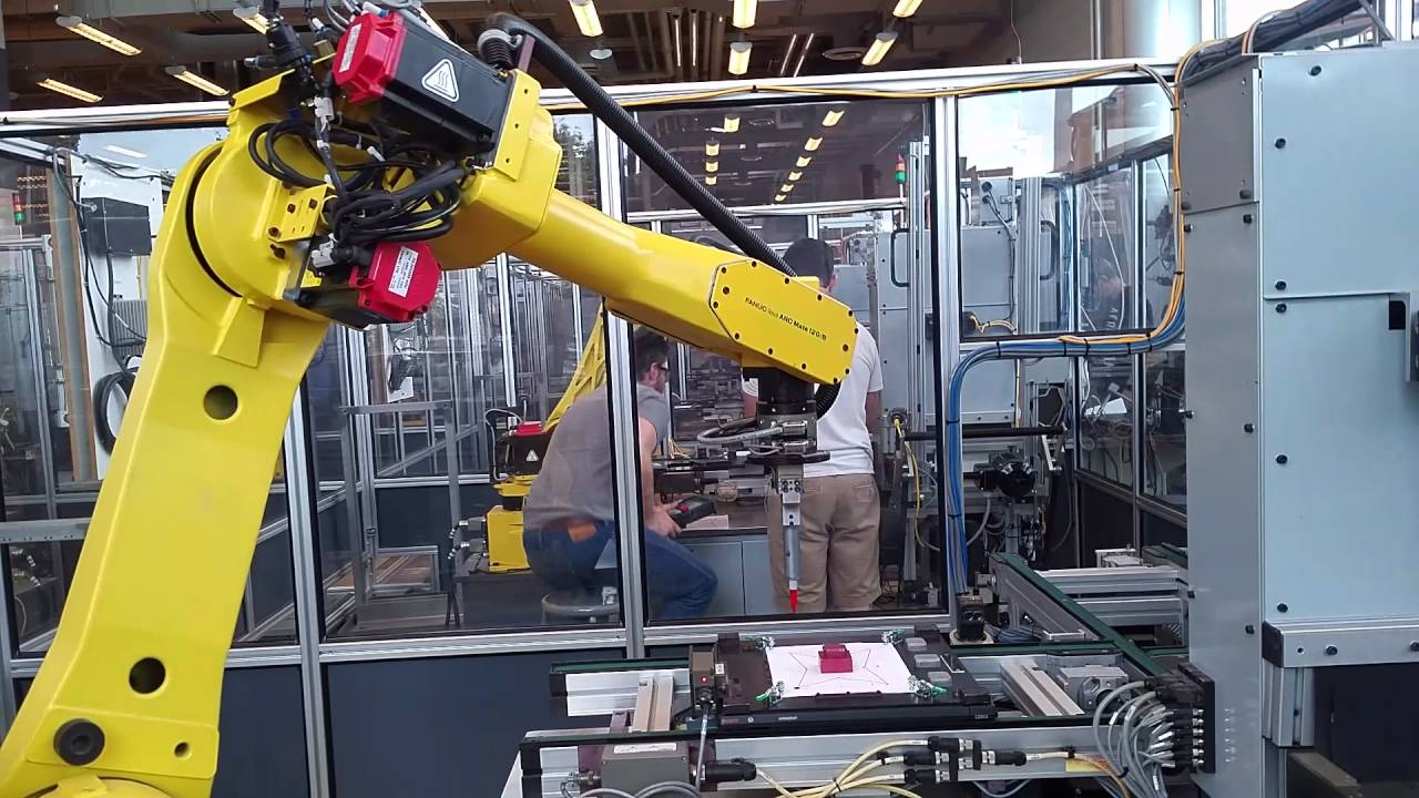 Fanuc Robot Pick And Place