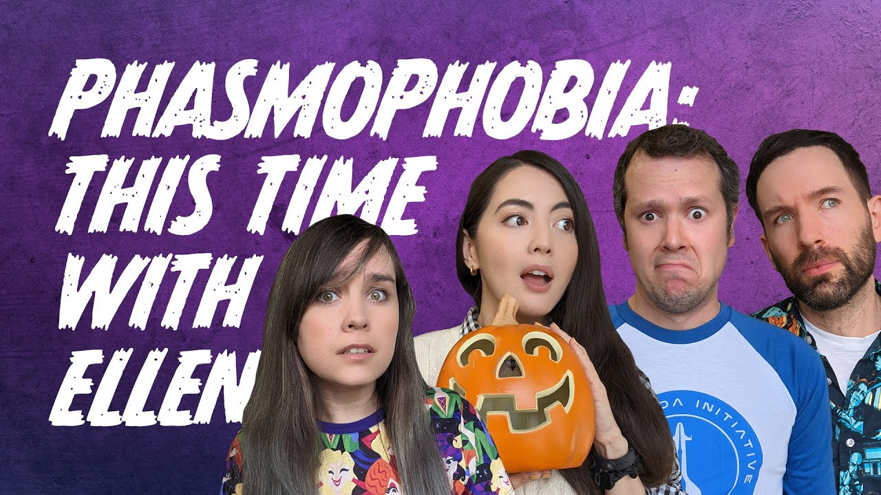 Download Return to Phasmophobia WITH ELLEN THIS TIME 🎃 It's Fine She's in the Van | Hallowstream IV