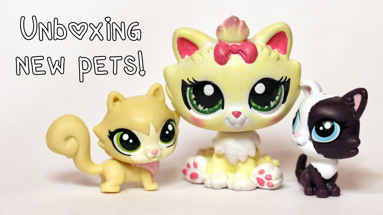 Unboxing New Pets Singles Family Sets Plus Opening