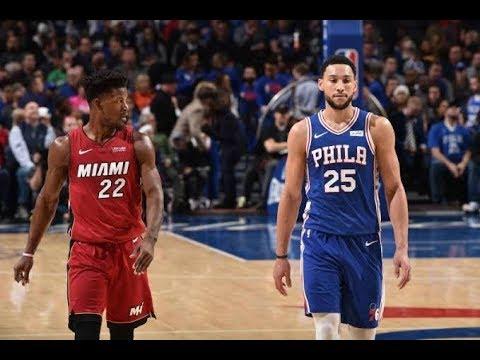 Philadelphia 76ers VS Miami Heat - Full Game Highlights ...