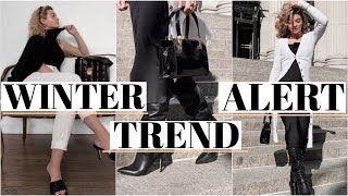 WINTER TREND ALERT! What to wear this Winter