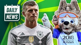 Kroos vor DFB-Abschied? FC Bayern will Boateng verkaufen? Spanien vs. Real Madrid! Daily News