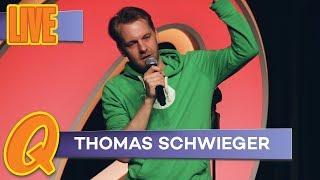 Thomas Schwieger nachts im Hamburger Hotel