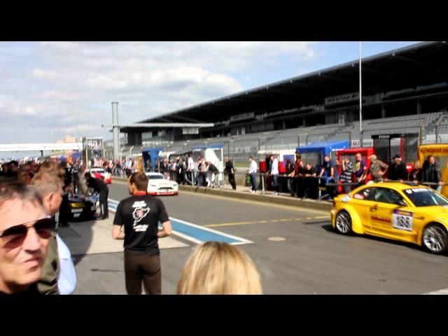 AVIA racing - der Aston Martin bei den Probefahrten