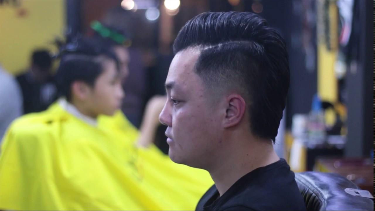 Cắt tóc nam đẹp chỉ với 10k tại Hà Nội – Phongbvb