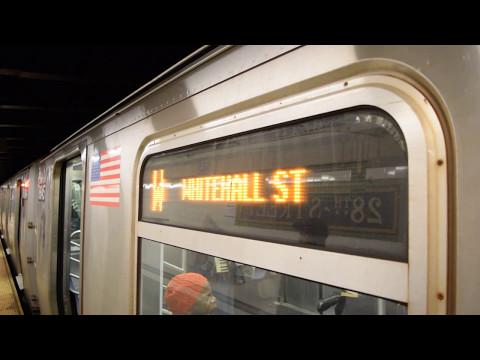 28th Street (BMT Broadway Line) Action!