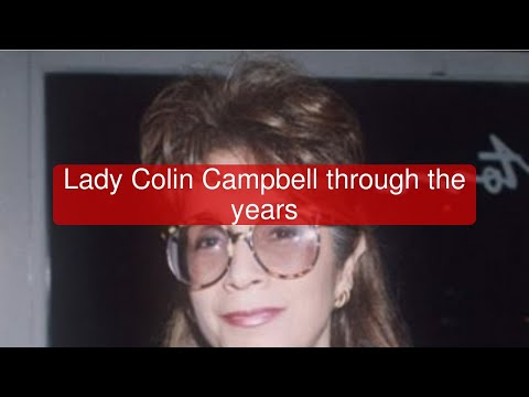 Lady Colin Campbell through the years