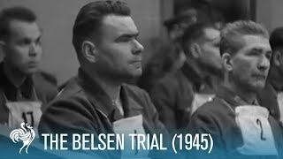 The Belsen Trial: War Crimes of the SS (1945) | British Pathé