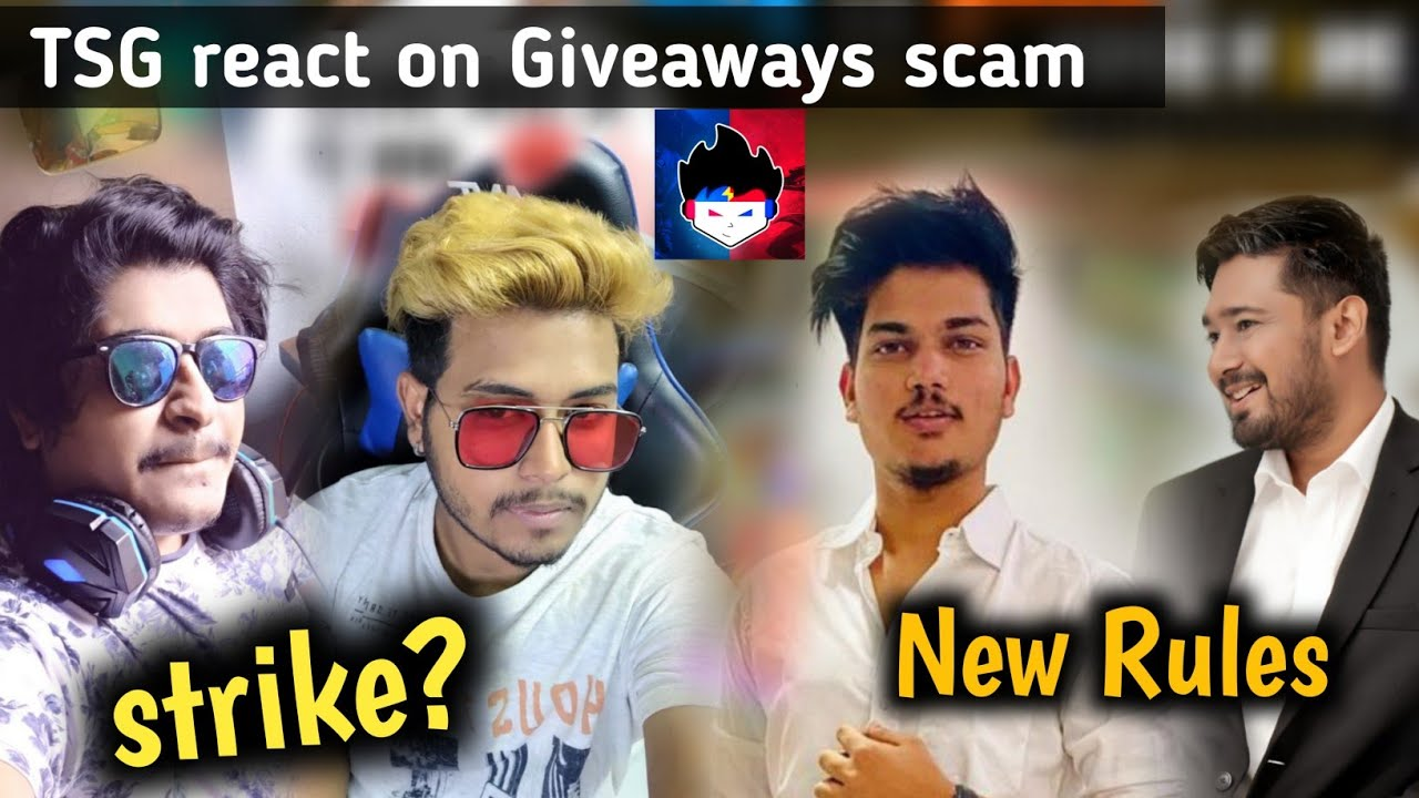 Gyan gaming angry || Gsk verified react on strike || Two side gamer react on scam || crx new rules