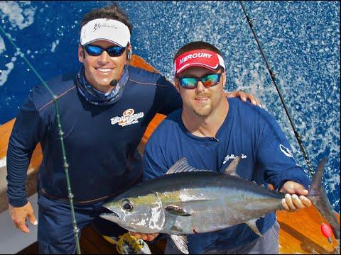 Father & son team fishing for Bass, Tuna & Mahi-Mahi in Miami: Season 5 | Episode 1