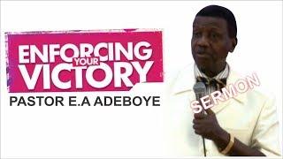 Pastor E.A Adeboye Sermon @ RCCG April 2018 Thanksgiving Service