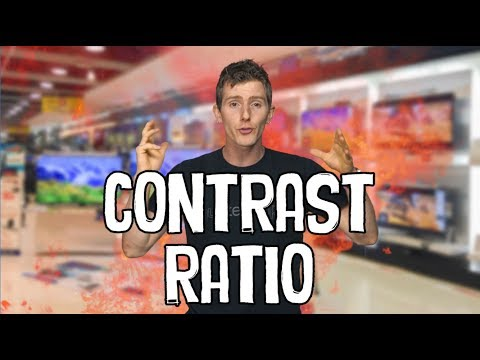 What is Contrast Ratio?