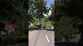 ボロブドゥール遺跡からジョグジャカルタ市内までの道のり